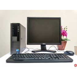 Paket Dell Optiplex 980 Core i5 | LCD 17 inch kotak
