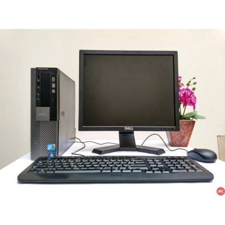 Paket CPU Optiplex 980 Core i5 dan LCD 17 inch kotak
