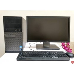 Paket Dell Optiplex 790 Core i5 Tower | LCD 22 inch Wide