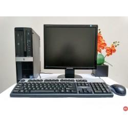 Paket Komputer HP 3000 sff Core 2 Duo Tower |LCD 17 inch square