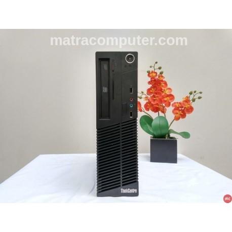 Lenovo M72e Desktop Core i3 komputer bekas matra computer