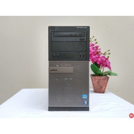 Dell Optiplex 390 Tower core i5 komputer gaming warnet computer