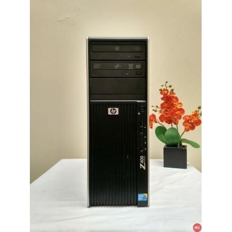 HP Workstation Z400 Xeon komputer design server sekolah