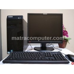 Paket komputer kantor Lenovo thinkcentre M71e Core i5 Tower | LCD 19 inch square
