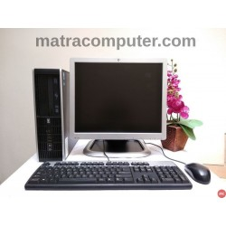 Paket komputer lab sekolah HP Compaq 6200 Pentium G Desktop | LCD 17 inch Square