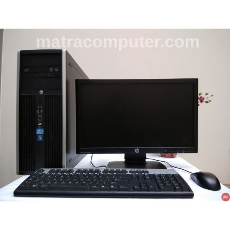 Paket HP Compaq 8200 Core i5 Tower | LED 20 inch Wide