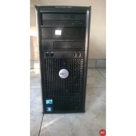 Dell Optiplex 780 Tower Core2duo komputer bekas murah