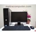 Paket Dell Optiplex 380 Core2Duo Desktop | LCD 17 inch wide