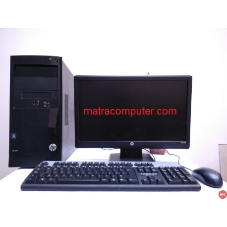 Paket  komputer warnet gaming kantor HP Pro 3330 Core i5 Tower | LCD 19 inch Wide
