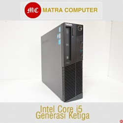 Lenovo M82e Desktop Core i5 gen 3 komputer bekas kantor komputer second